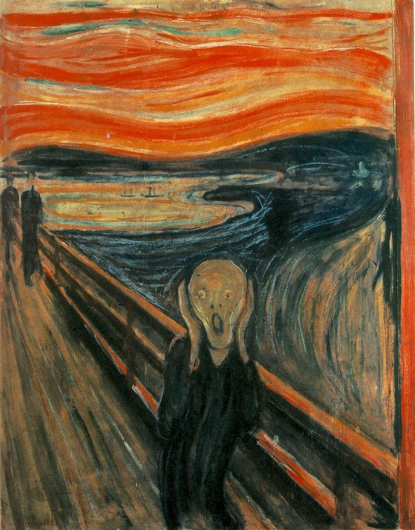 edvard munch anxiety