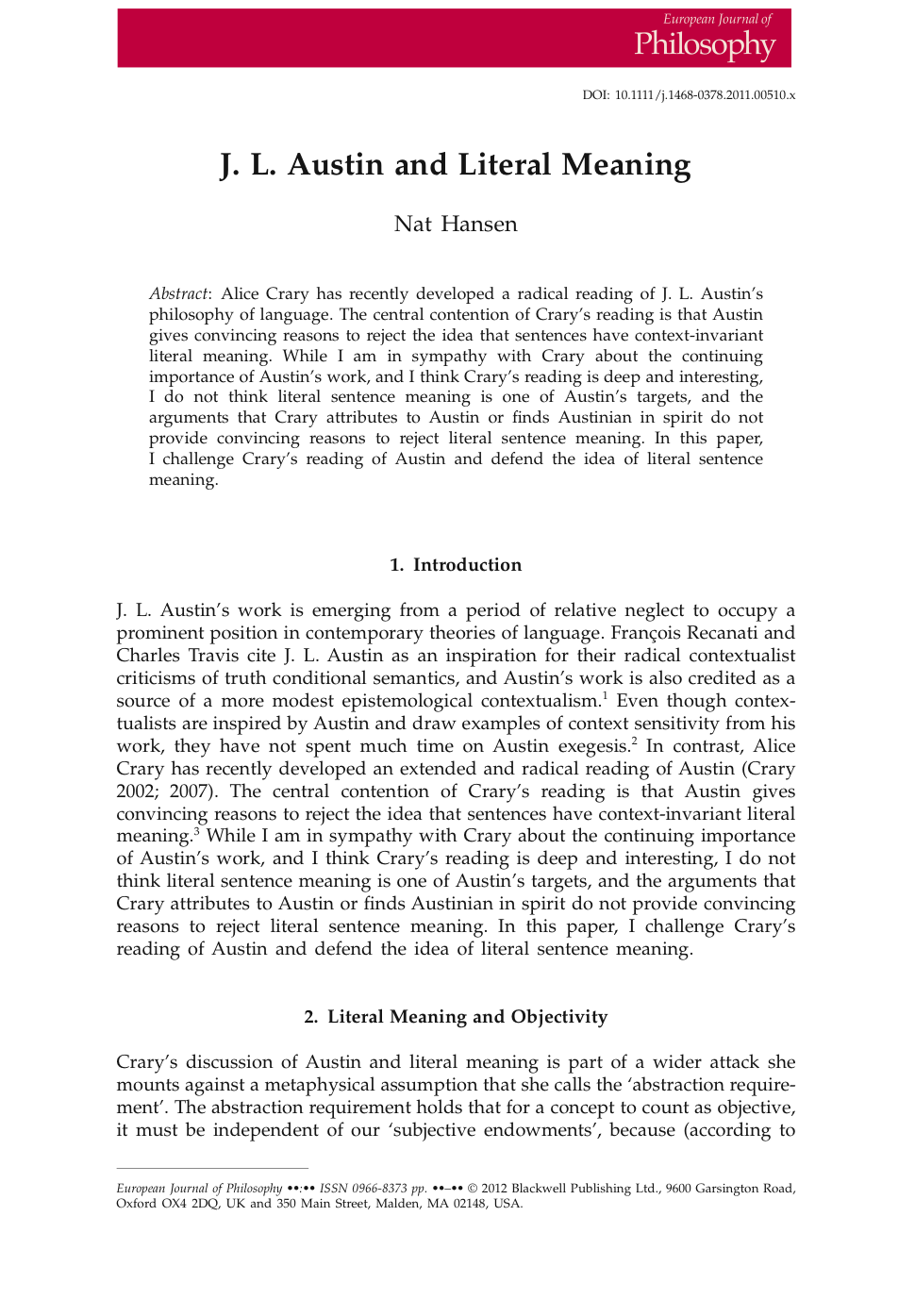 Dissertation abstract online word count
