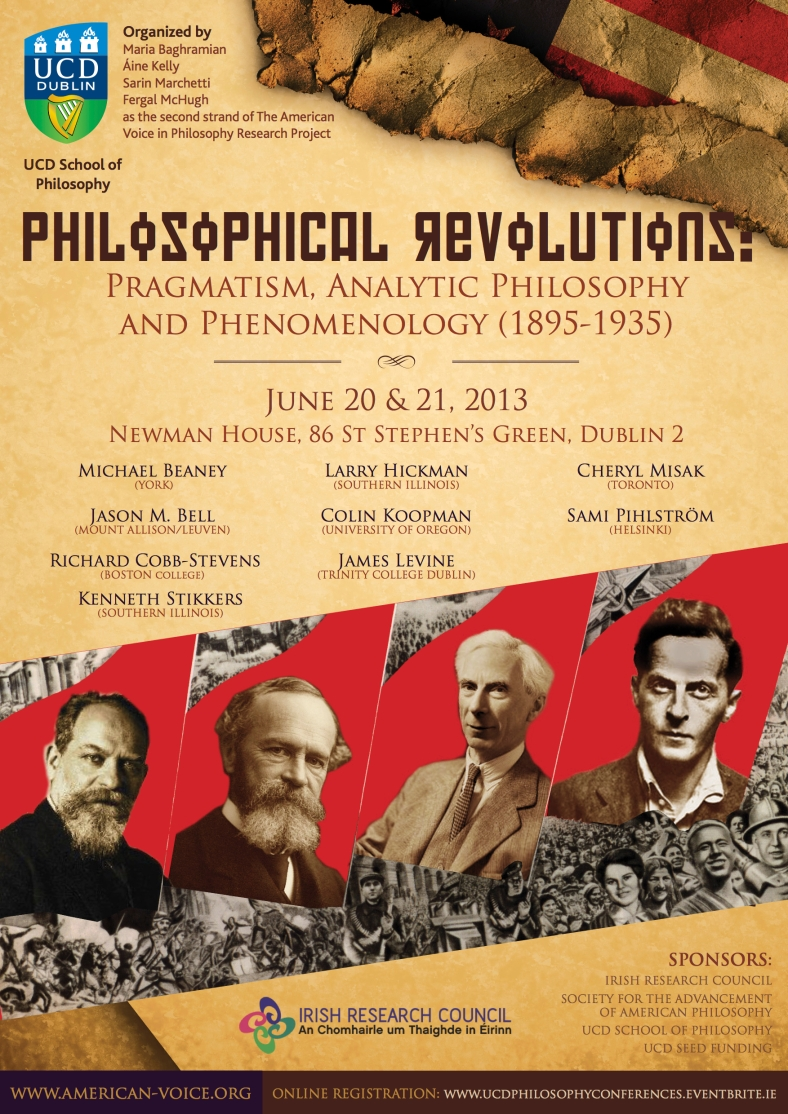 UCD Philosophy American Voice Philosophical Revolutions