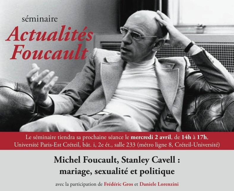 Foucault:Cavell