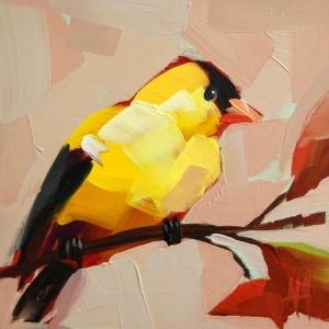 goldfinch no. 24 painting